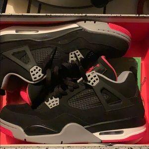Black Cement Jordan 4s